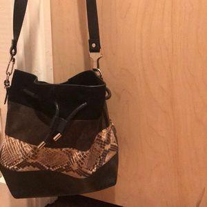 Proenza Schouler Snakeskin Bucket Bag